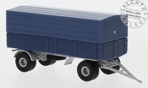 """BREKINA 34619/_b furgone OM Lupetto /""""AER MACCHI/"""" colore arancio 1:87"""
