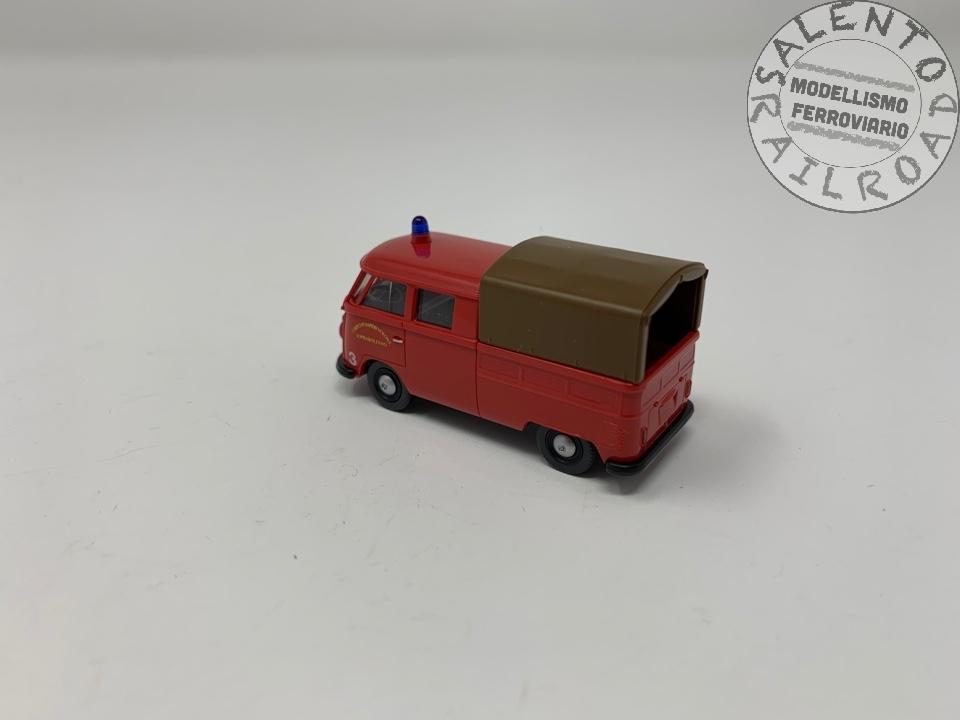 "BREKINA 34640 furgone OM Lupetto /""Sofflan Materassi/"" in scala 1:87"